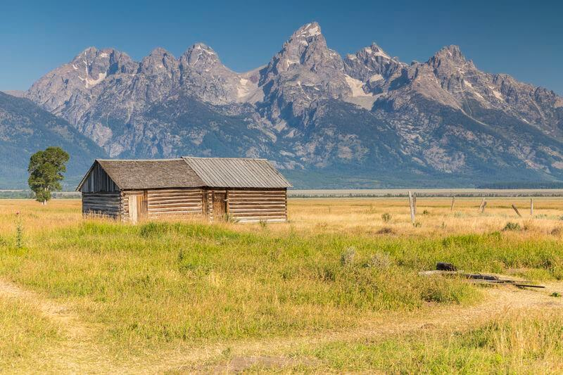 Mormon row grand teton parc national