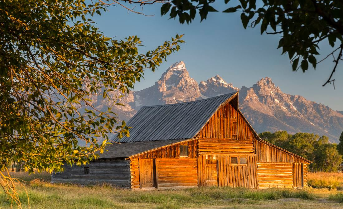 Moulton barn gran teton usa