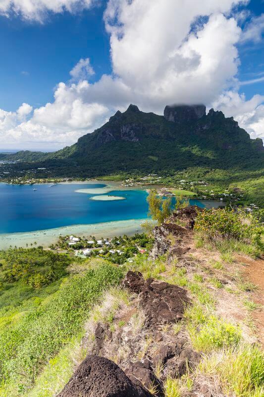 Randonnée à Bora Bora en Polynésie