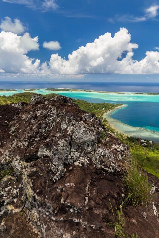 Randonnée à Bora Bora en voyage en Polynésie