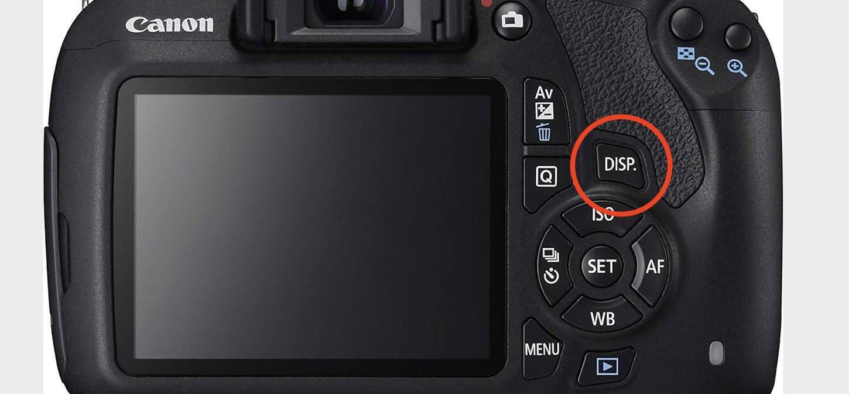 histogramme photo sur boitier reflex