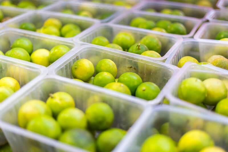 citron au marché de papeete