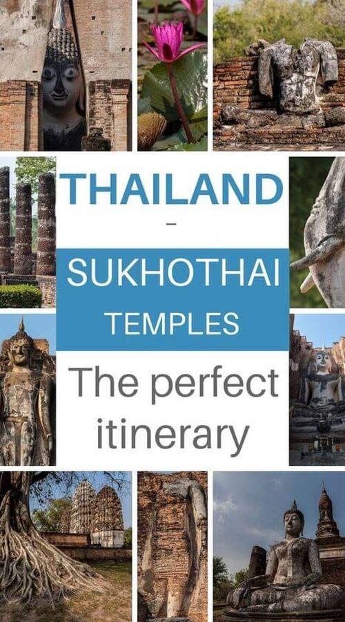 sukhothai ride in thailand