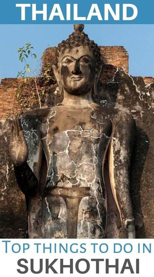 temples sukhothai thailand asia