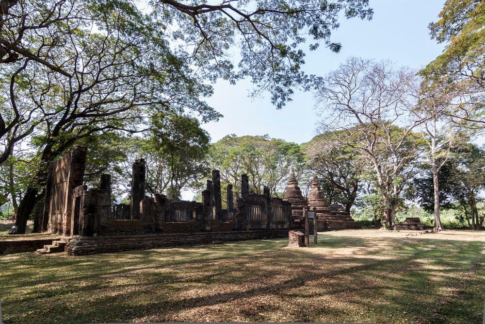 Parc Si Sitchanalai thailande
