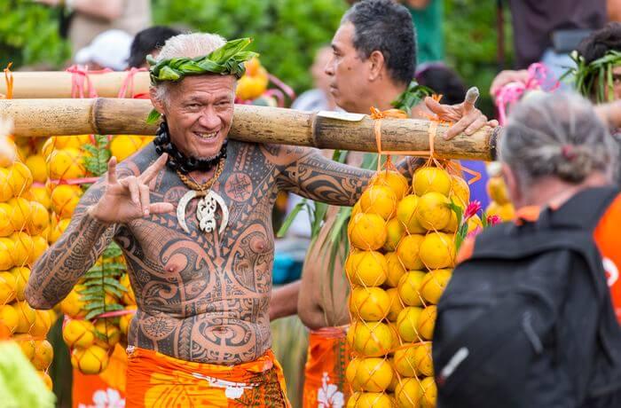 culture à tahiti