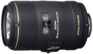 The sigma 100mm f/2.8, un great macro lens
