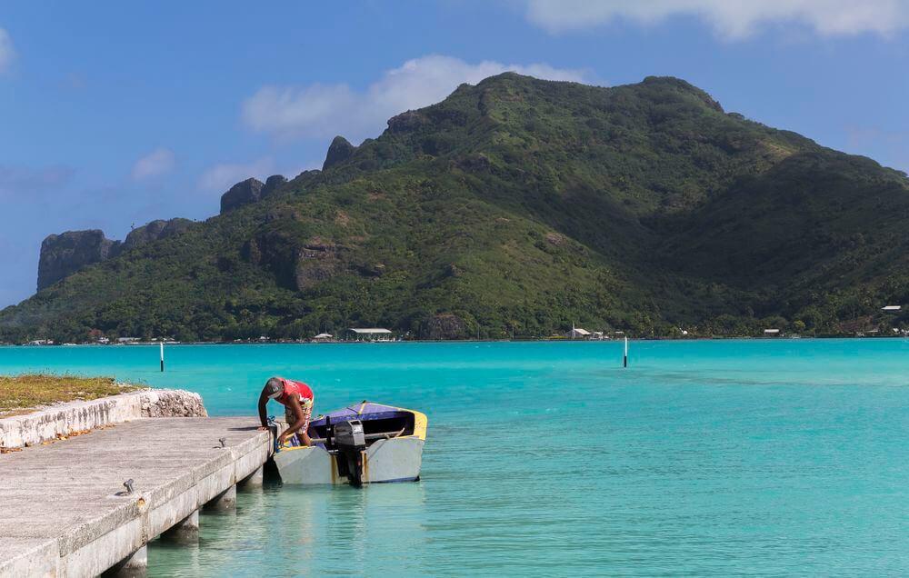 les iles en vacances en polynésie