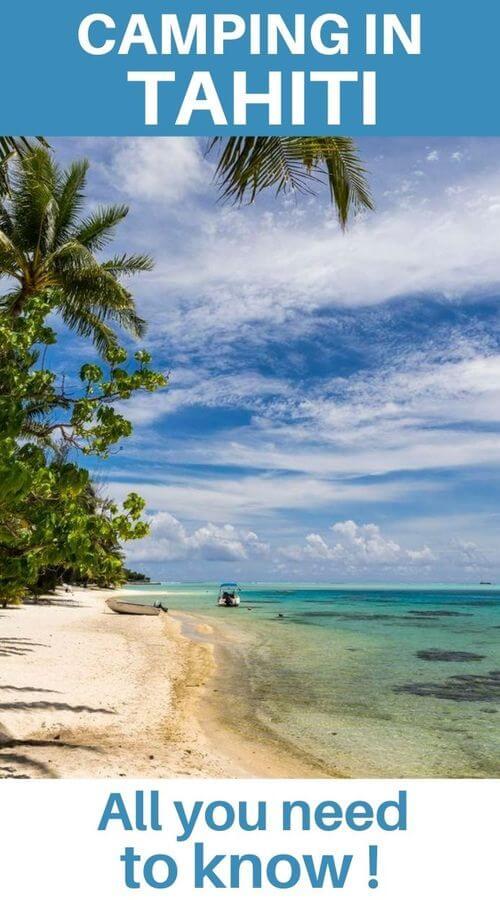 camping in tahiti