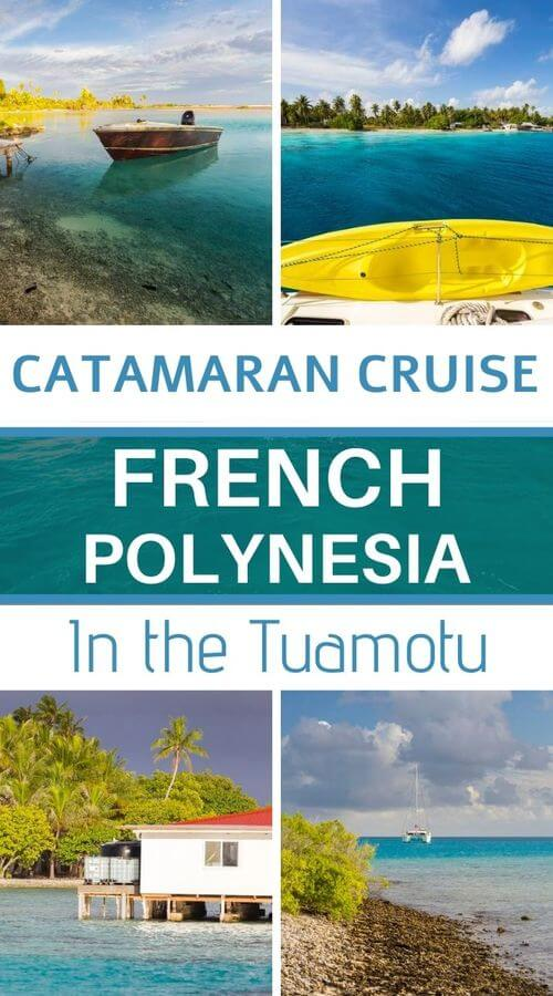 Cruise in the Tuamotus with Poe Charter
