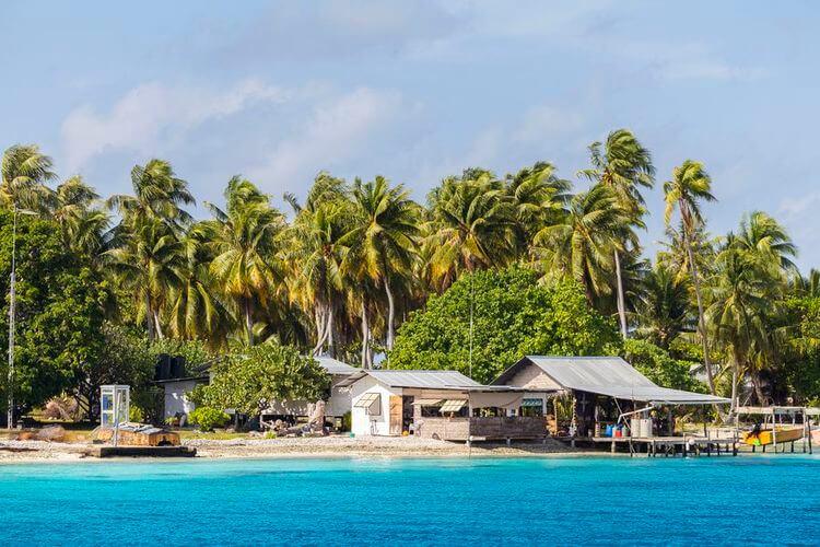 tuamotu atoll polyénsie