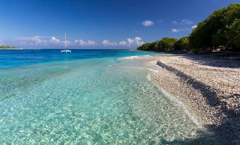 les atols et le camping