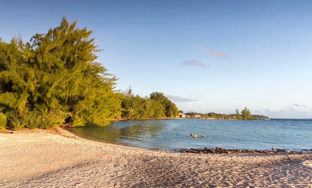 le camping en polynésie dans les atolls