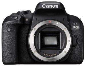 choisir un appareil photo canon 800d pour un voyage
