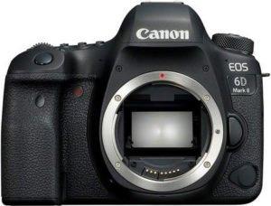 choisir un appareil photo canon 6D mark II pour un voyage