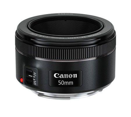 la distance focale de 50mm sur mon canon