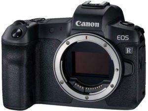 canon eos R, du haut de gamme comme appareil photo hybride