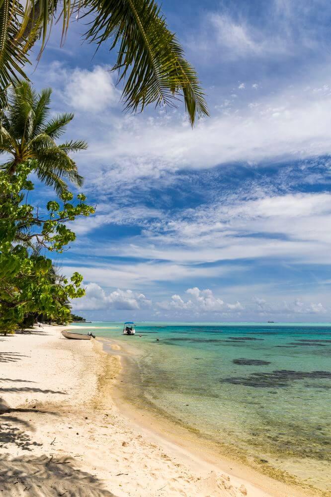 le camping tente en polynésie