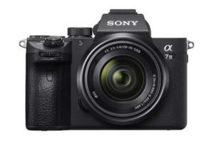 choisir un appareil photo sony A7 III pour un voyage