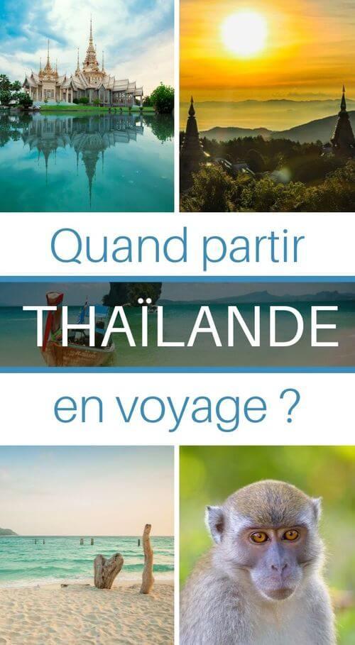 vacances en thailande quand y aller