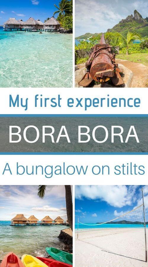 night on stilts in bora bora