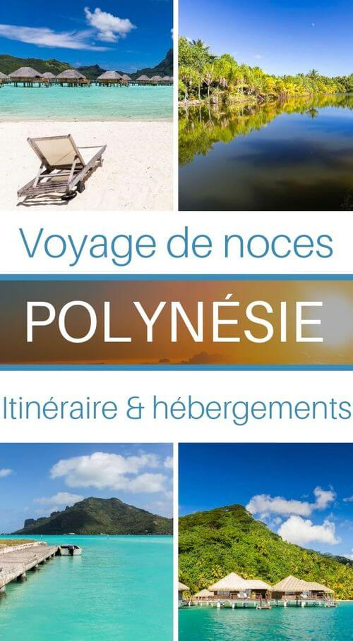 voyage polynésie de noces