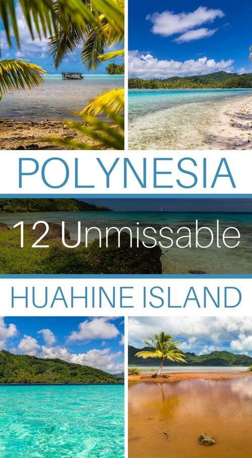 what to do on huahine island