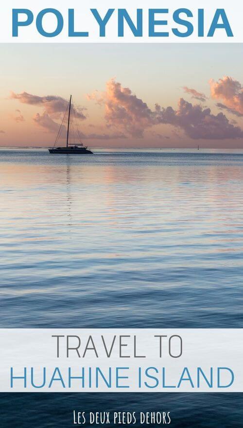 huahine island french polynesia