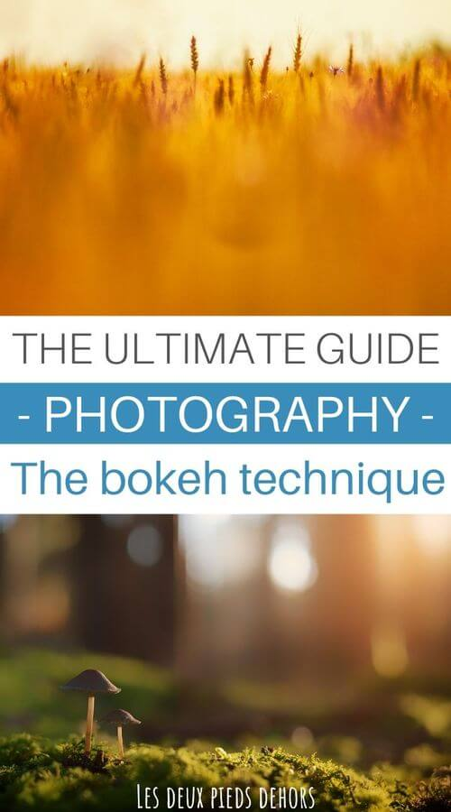 bokeh technique in photography