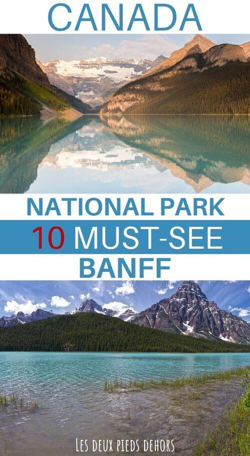 visit banff national park in canada