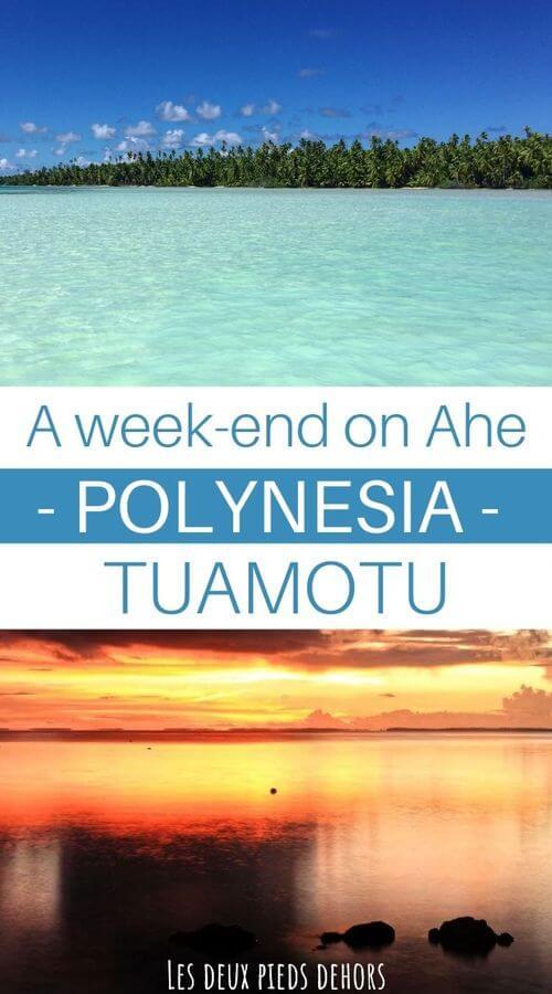 weekend in ahe tuamotu