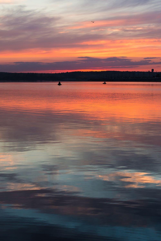 astuce photo coucher de soleil
