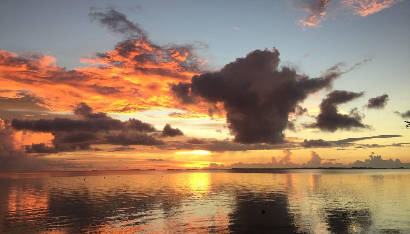 réglage coucher de soleil