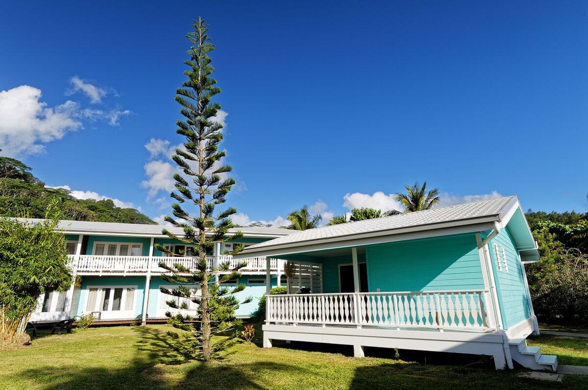 staying at the raiatea lodge in french polynesia