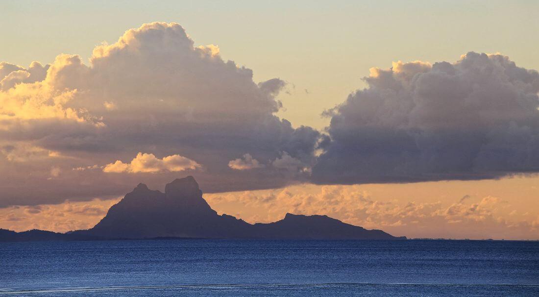vacation on raiatea island