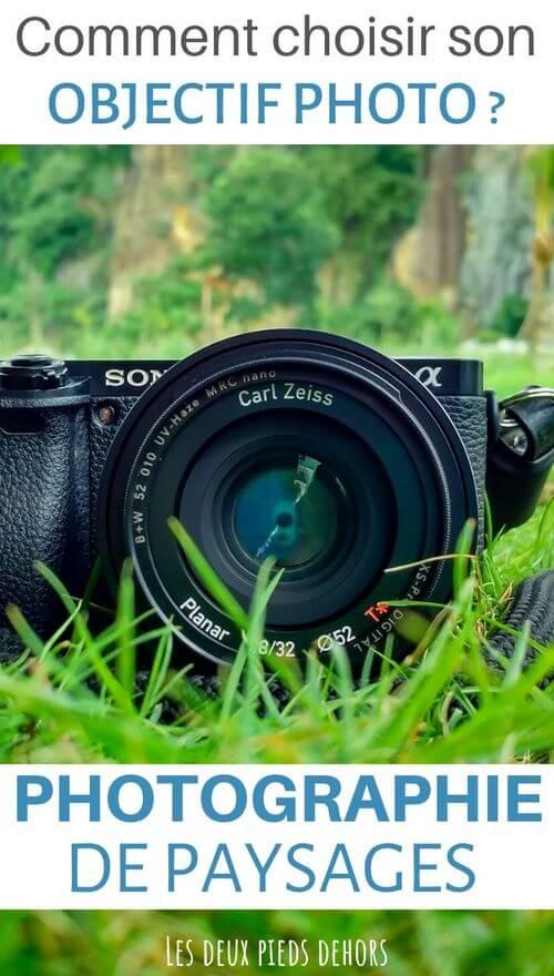 objectif pour photographie de paysages