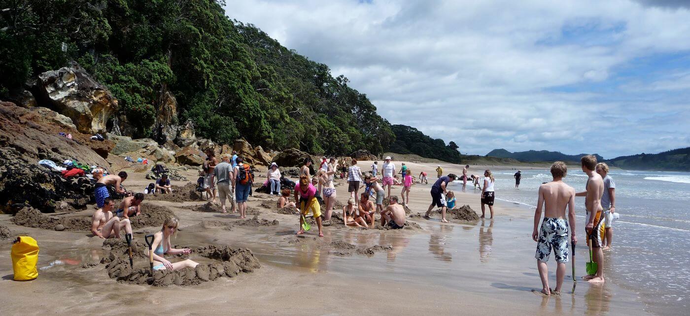 hote water beach coromandel