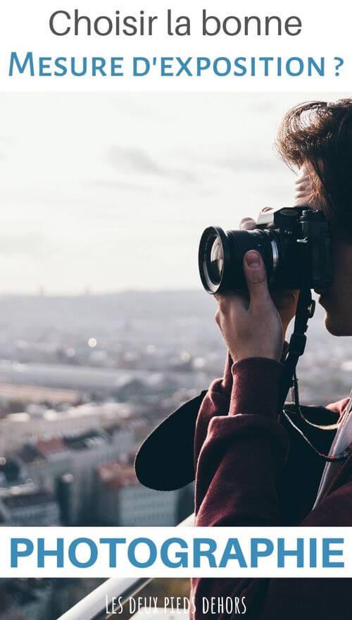 mesure d'exposition en photographie