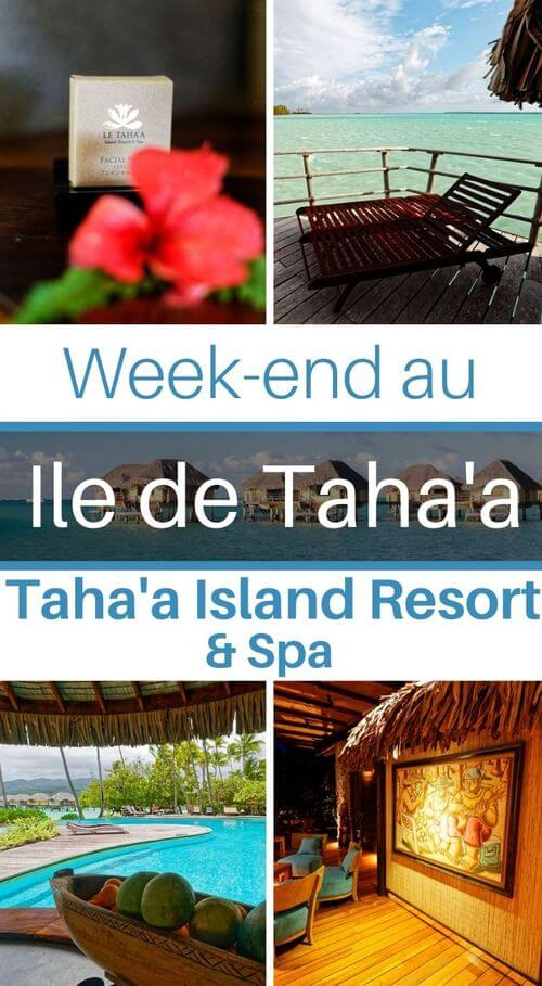 avis sur le tahaa island resort and spa