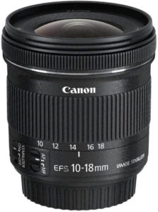 canon 10-18mm wide angle lens