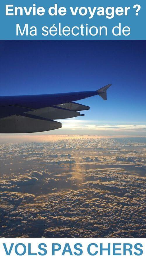 voyager avec des vols pas chers