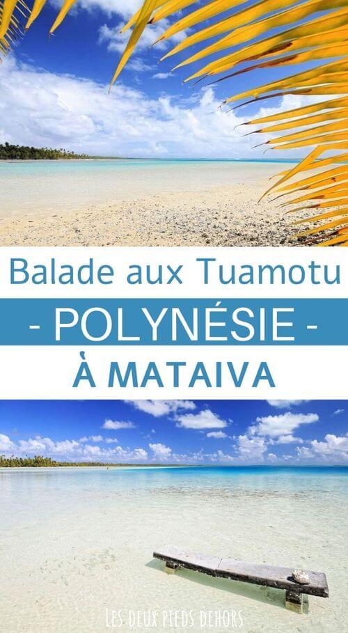 atoll des tuamotu polynésie