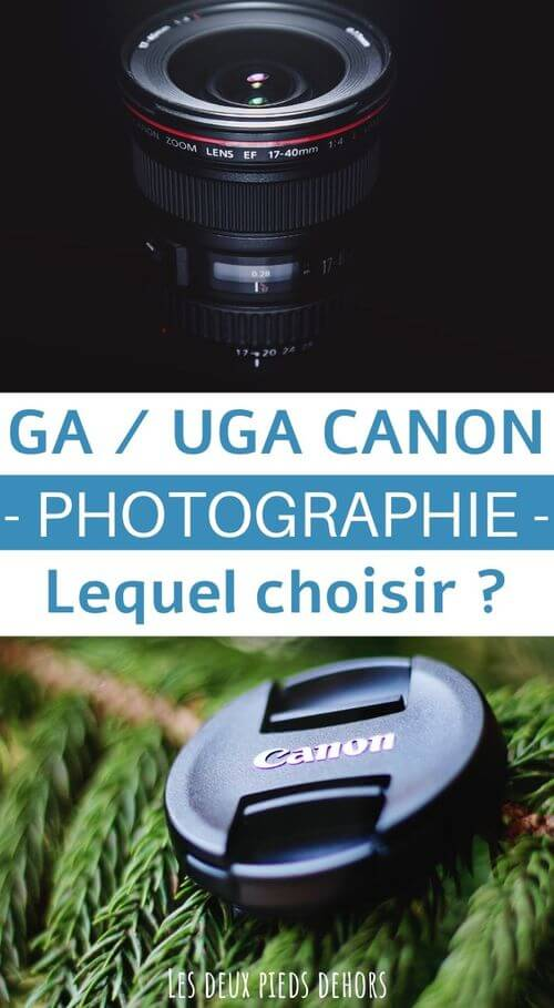 meilleurs GA et UGA canon