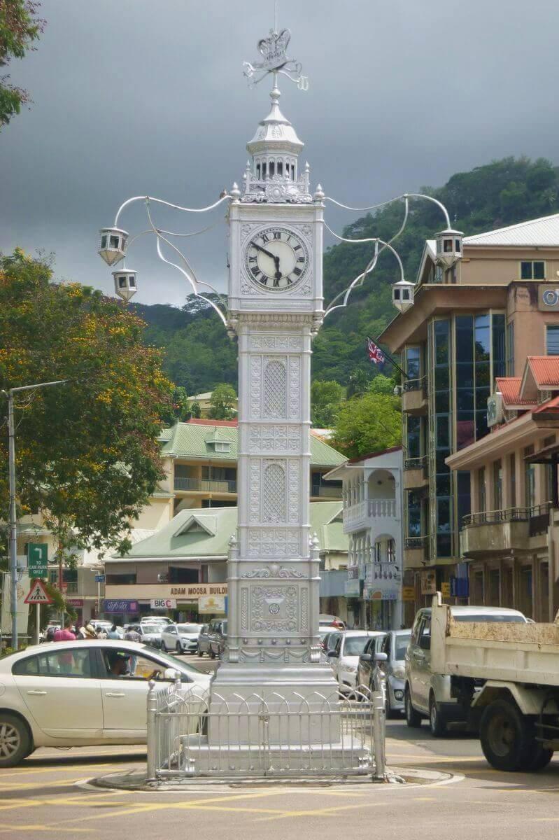 mahé clock tower seychelles