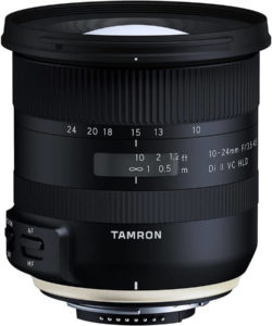 tamron wide angle lens for aps-c camera