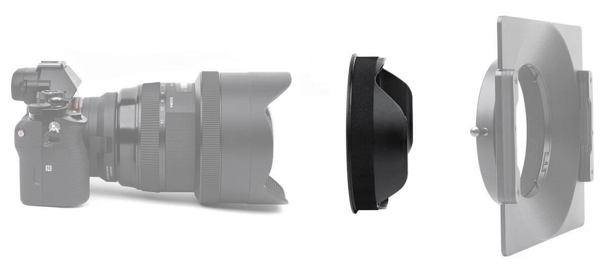 porte filtre nisi 180mm