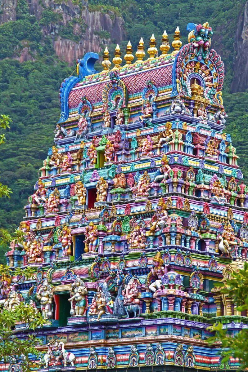 temple seychelles hindou mahé