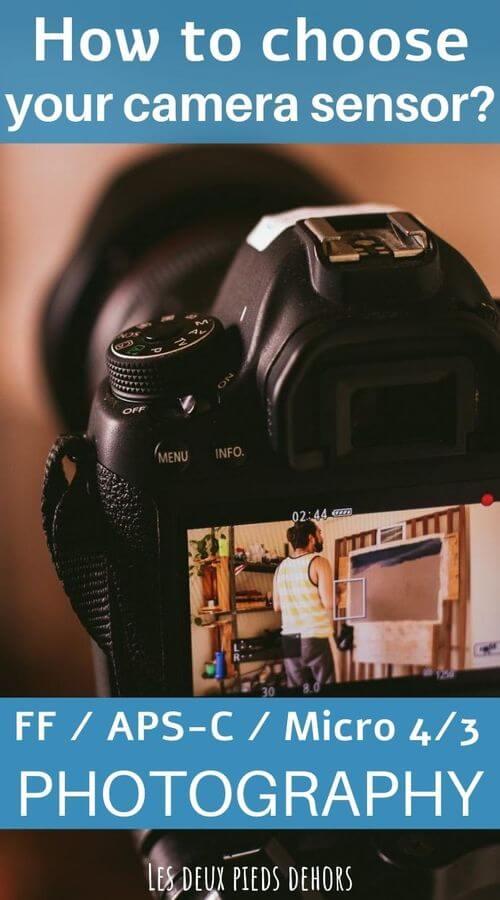 camera sensor how to choose