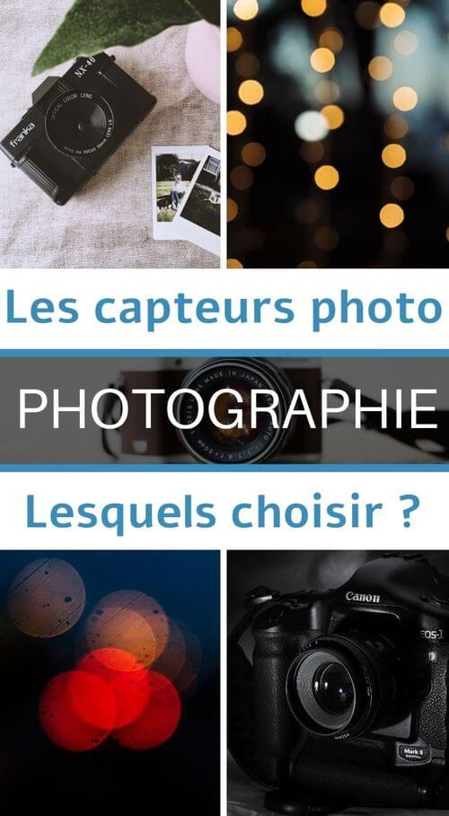 les capteurs en photographie