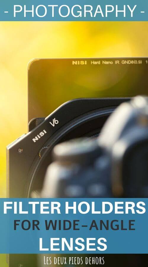 which filter holder system for lens